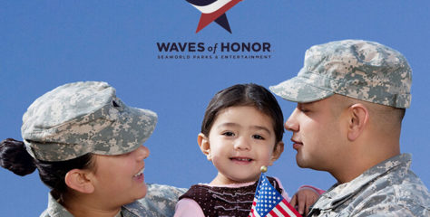 Waves of Honor Free Admission for Active Duty Military and Families