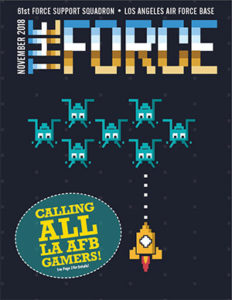 November The Force Magazine Cover