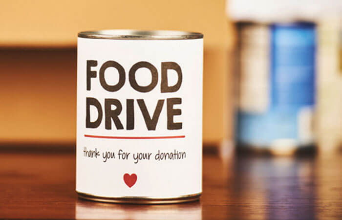 Service Project - Food Drive