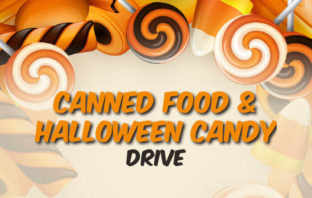 Food and Halloween Candy Drive