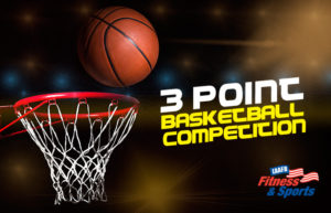 3 Point Basketball Competition @ Fitness & Sports Center