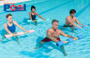 Introductory Adult Water Aerobics Class @ Pool