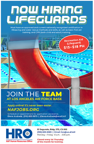Join The Team Now Hiring Lifeguards