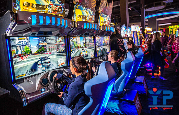 Dave & Busters Teen Trip
