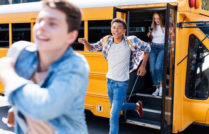 School Transportation Available