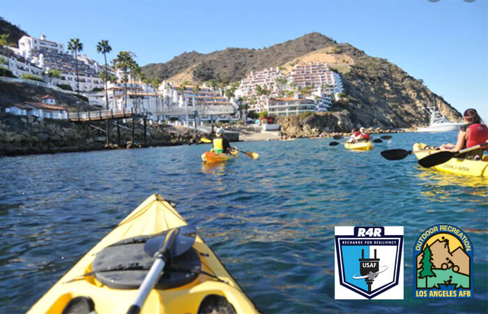 Kayak Catalina Island with 61 FSS ODR
