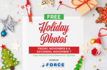 Free Holiday Photo for Fort MacArthur, Crest & Pacific Hights Families at the Community Center