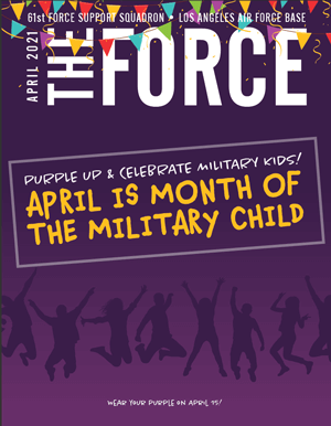 The Force Magazine Cover April 2021