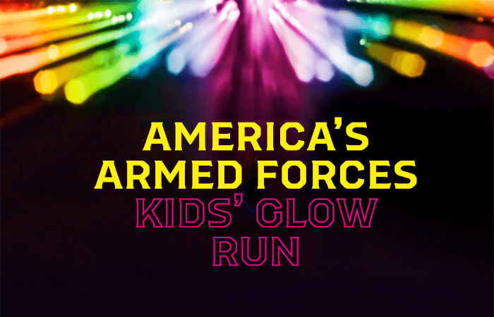 America's Armed Forces Kids' Glow Run