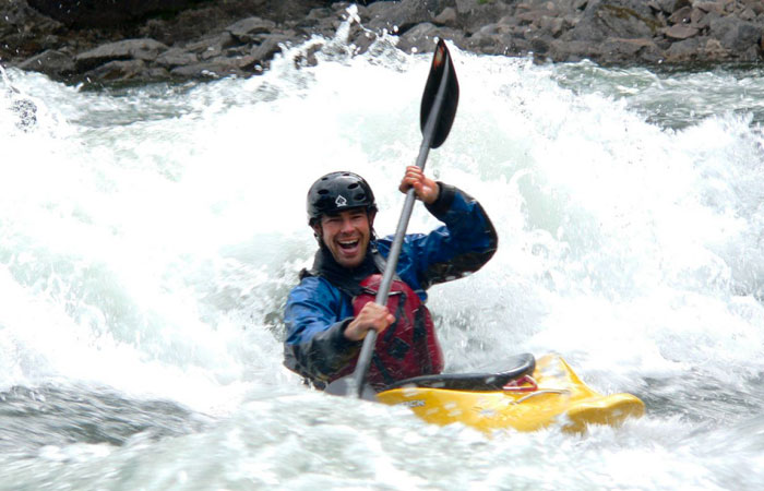 Whitewater Kayaking with LAAFB ODR