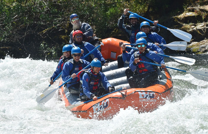 Whitewater Rafting with LAAFB ODR