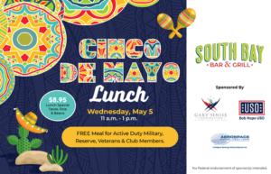 Cinco De Mayo Lunch @ South Bay Bar & Grill