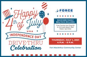 Independence Day Drive-Thru Celebration @ Harborview Lounge