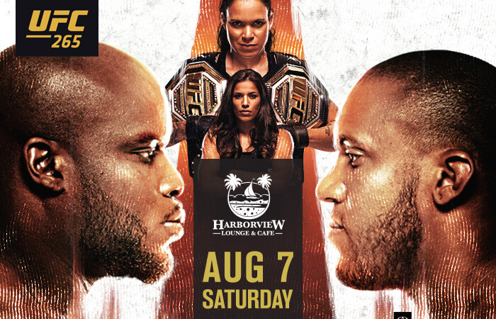 UFC 265 Fight Night at Harborview Lounge Fort MacArthur