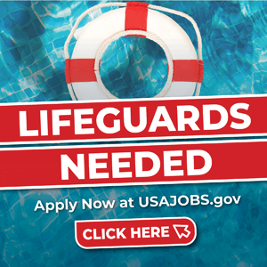 Lifeguards Needed - Apply at usajobs.gov