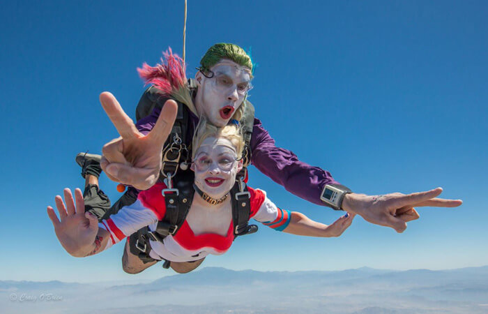 Costume Diving with Outdoor Recreation