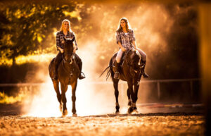 Sunset Horseback Riding @ Outdoor Recreation