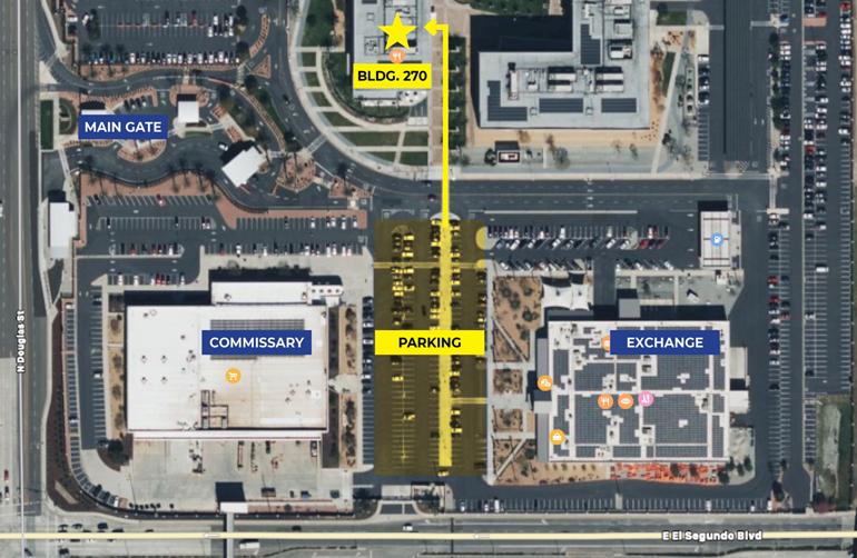 ITT New Location Map