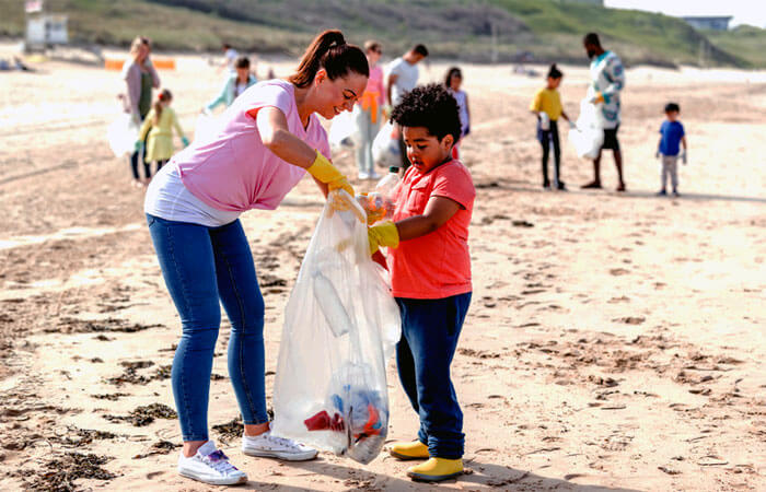 Cabrillo Beach Clean Up And Bonfire