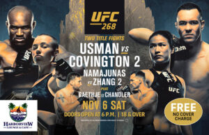 UFC 268 Fight Night at Harborview Lounge @ Harborview Lounge