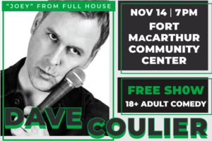 Dave Coulier Comedy Show @ Community Center