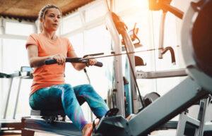 Row Machine Challenge @ Sports & Fitness Center